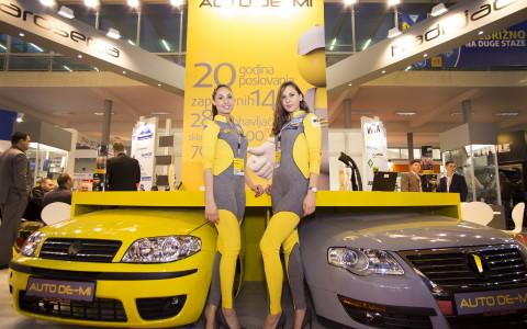 AUTO DE-MI na sajmu automobila Beograd 2016